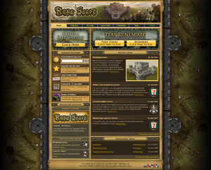 Runescape Homepage - Mobilising Armies