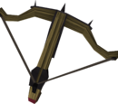 Black crossbow