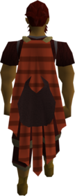 Cape (red) (Stealing Creation) equipped