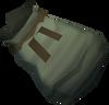 Charmed sack (partially full) detail