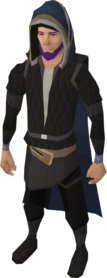 Veteran cape equipped front