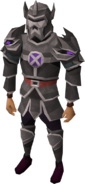 Replica Torva outfit equipped (male)