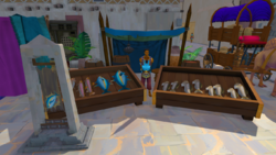 Fish stall (Menaphos)