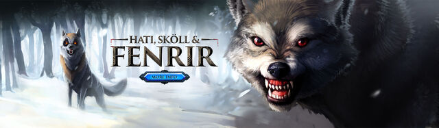 File:Hati, Skoll and Fenrir head banner 2.jpg