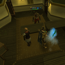 Safe spotting a werewolf in Canifis