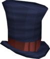 Top hat (blue) detail