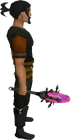 Void knight mace equipped