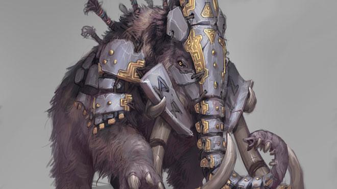 Acheron mammoth concept art news image