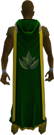 Hooded herblore cape (t) equipped