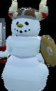 Barbarian snowman