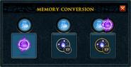 Memory conversion