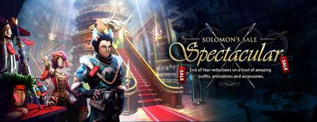 Solomon's Sale Spectacular banner