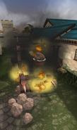 Catapult (Invasion of Falador, Damaged)