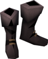 Colonist's boots (orange) detail