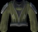 Wildercress robe top detail
