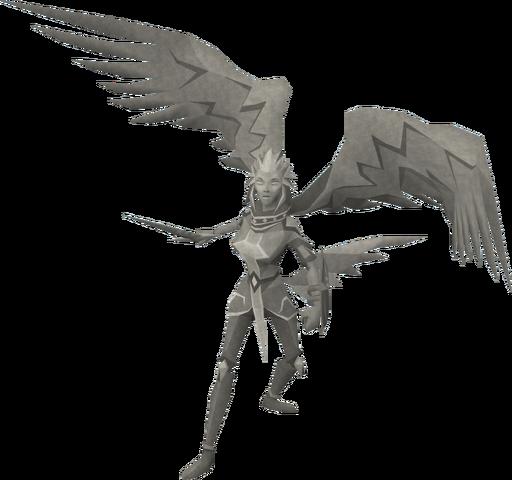 File:Basic Saradomin statue.png