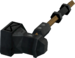Off-hand iron warhammer detail