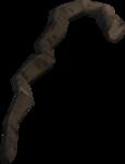 Walking stick detail