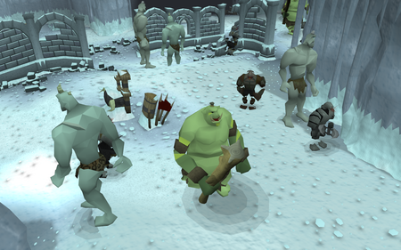 Bandos's Stronghold old