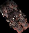 Malevolent greaves detail
