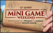 RS Road Trip Minigame Weekend pop-up