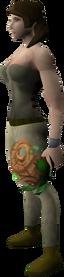 Splitbark orb equipped