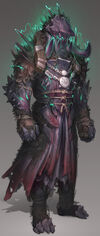 World Eater armour concept art news image