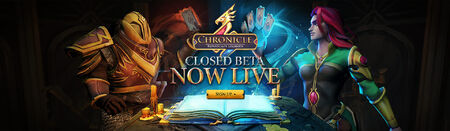 Chronicle Closed Beta Live head banner