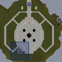 Fairy ring DIS location