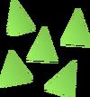 Jade bolt tips detail