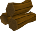 Maple logs detail