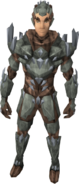 Stoneheart armour equipped (male)