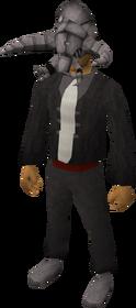 Tuska mask equipped