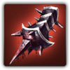 Brutal claw icon