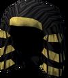 Pharaoh's bun (yellow) detail