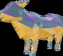 Precious rhinestone cow