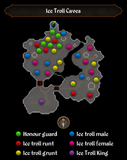 Ice Troll Caves map