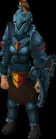 Rune heraldic armour set 5 (sk) equipped