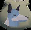 Spirit wolf pouch detail