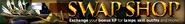 Swap shop lobby banner