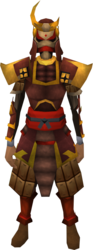 Tetsu armour set equipped (female).png