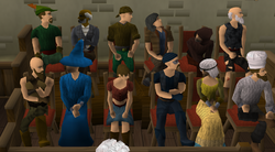 Jury in court