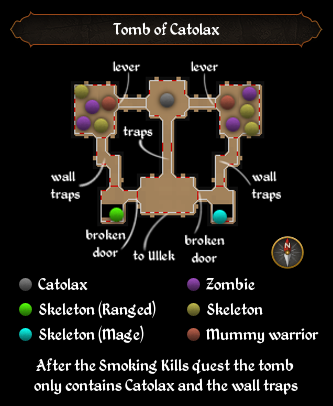 Tomb of Catolax map