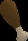 Turkey drumstick (override) detail