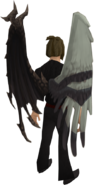 Paradox wings equipped