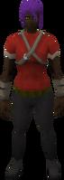 Retro kebbitskin cowl