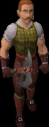Larry the Lumberjack