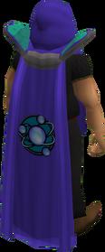 Retro divination cape equipped