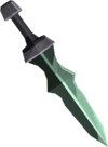 Adamant ceremonial sword IV detail