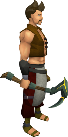File:Gilded adamant pickaxe equipped.png